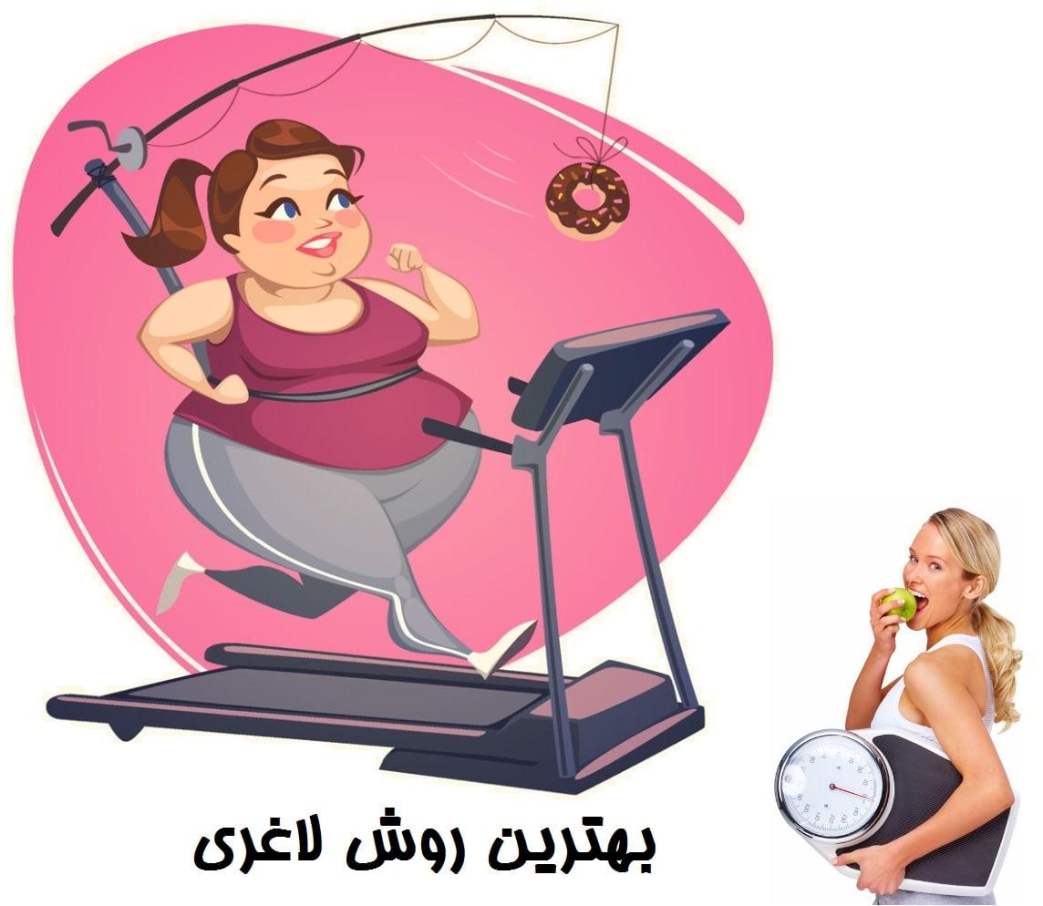 بهترین روش لاغری برای کاهش وزن سریع
